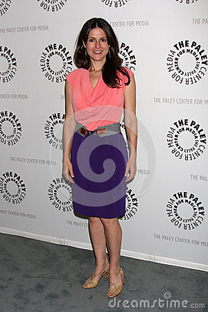 Ali Marsh arrives at the celebration of the final season of USA Network s  In Plain Sight  Editorial Stock Image
