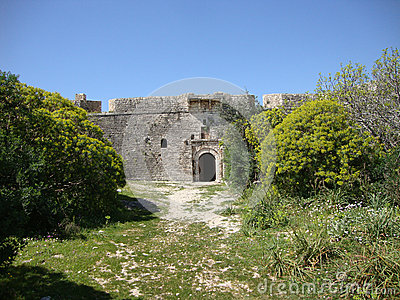 Ali Pasha Fort main entrance, Himara, Palermo, South Albania