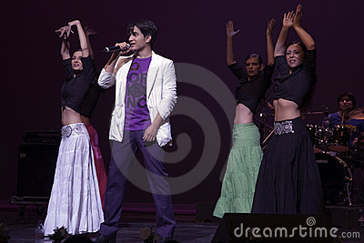 Ali Zafar in concert at Geneva Editorial Photo