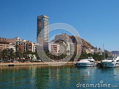Alicante Editorial Stock Photo