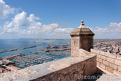 Alicante from the Castle