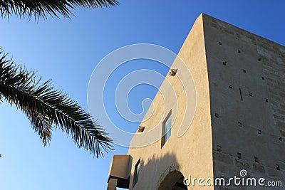 Alicante castle detail