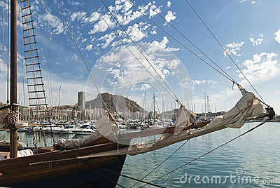 Alicante Spanien