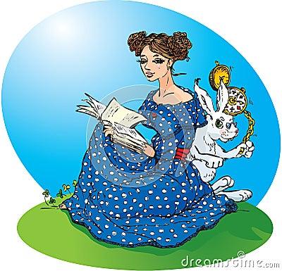 Free Alice`s Adventures In Wonderland Royalty Free Stock Photos - 21996538