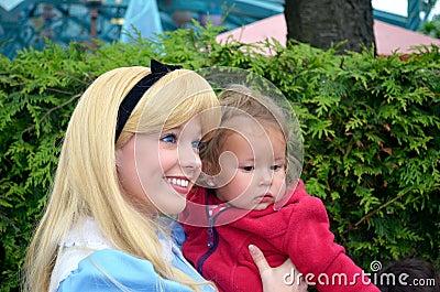Alice in wonderland Editorial Photography