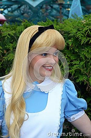 Disney Alice in wonderland Editorial Image