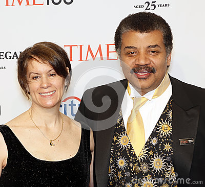 Free Alice Young And Neil DeGrasse Tyson Stock Photos - 40265013