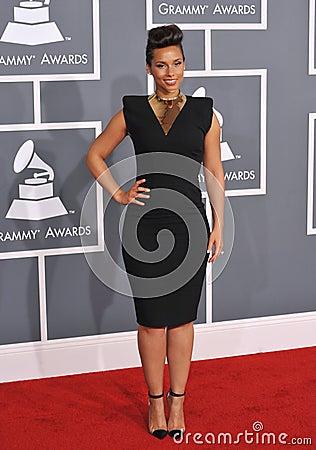 Alicia Keys Editorial Image