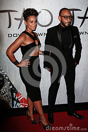 Alicia Keys, Swizz Beatz Editorial Stock Photo