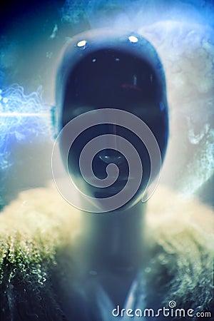 Alien портрет фантазии