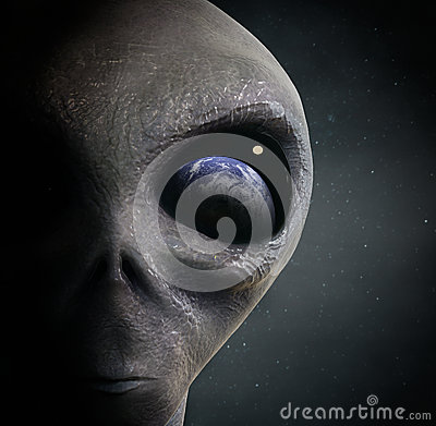 Free Alien Stock Image - 56523331