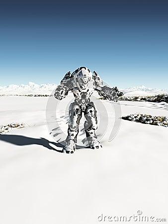 Alien Battle Droid - Snow Patrol