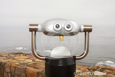 Alien Binocular Magnifying Scope Device