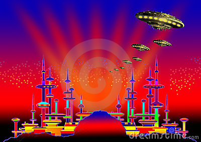 Alien city 6