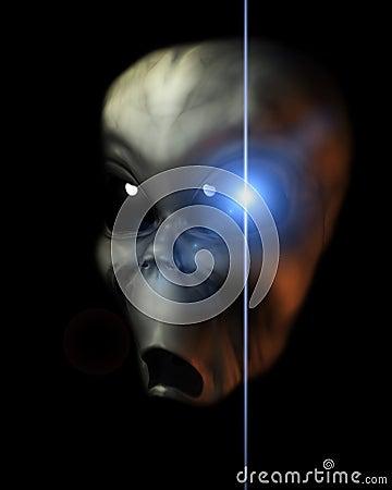 Alien Face 40
