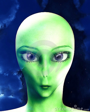 Alien Face 9