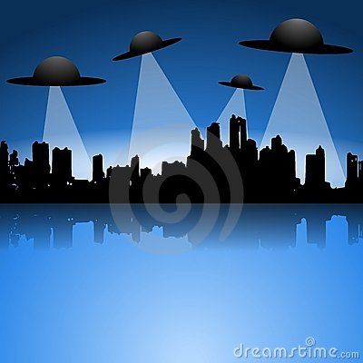 Alien Flying Saucers UFO Invasion