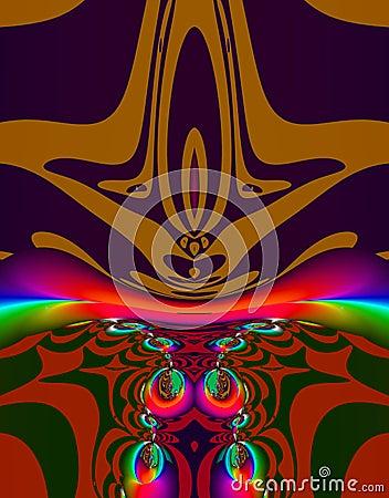 Alien Fractal Art