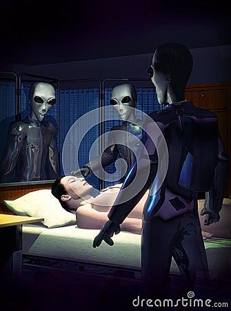 Alien healing