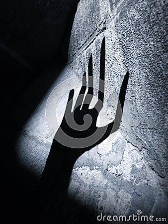 Alien horror hand