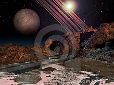 alien water planet - photo #31