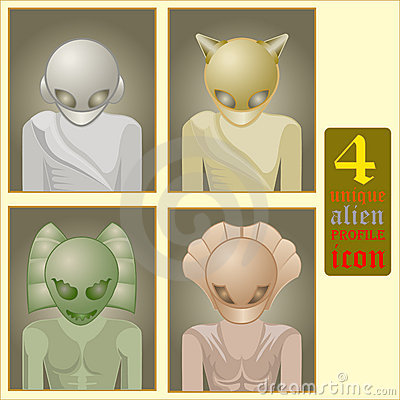 Alien profile icon