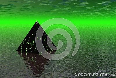 Alien pyrimid