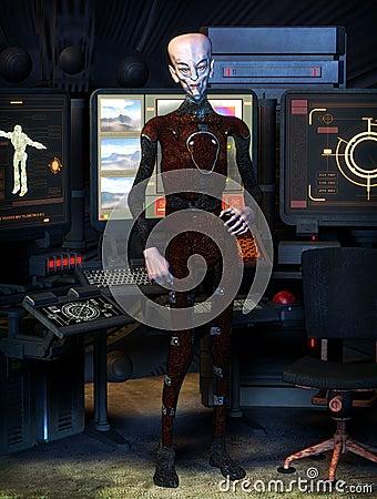 Alien science fiction