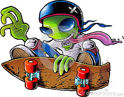 Alien Skater