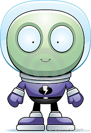 Alien Spacesuit