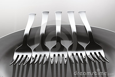 Aligned forks
