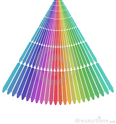 Alignment of Crayons