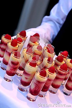 Alimento de la boda