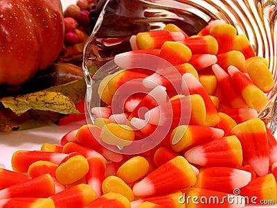 Alimento: Derramamiento del maíz de caramelo
