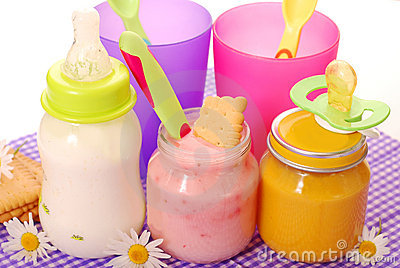 Alimento para el bebé