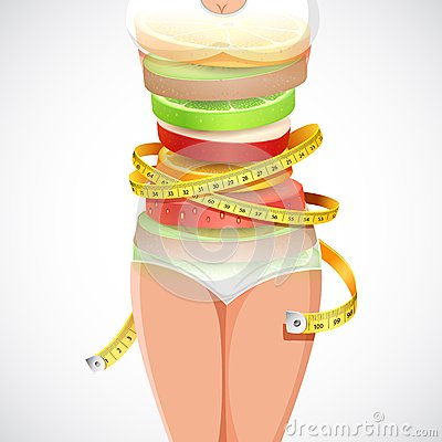 Alimento saudável e do emagrecimento
