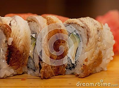Alimento tradizionale del Giappone - rullo