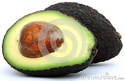 Alimento tropical fresco, aguacate sano
