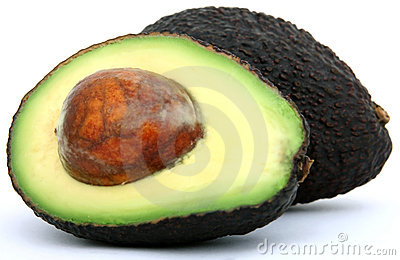 Alimento tropical fresco, fruta de abacate saudável