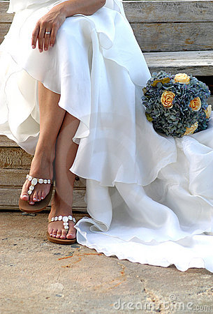 Alineada de boda nupcial