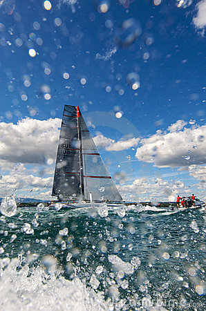 Alinghi 5 Editorial Stock Photo