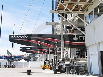 Alinghi, America s cup Editorial Stock Photo