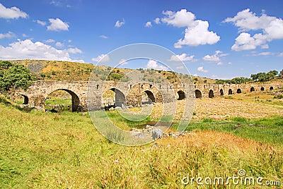 Aliseda roman bridge