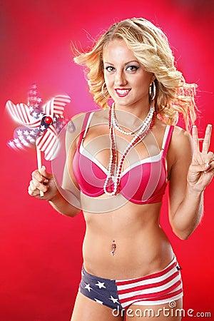 All american blond
