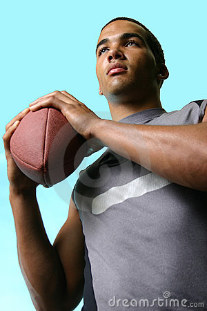 Free All American Football Hero Royalty Free Stock Image - 842856