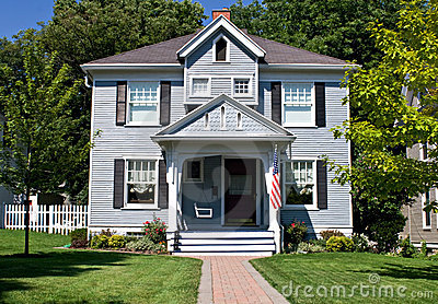 All American Home Stock Photos - Image: 10126733