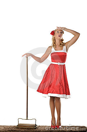 Free All American Housewife Stock Photo - 21752950