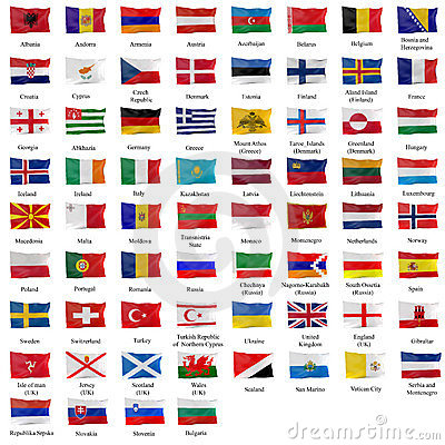 all european flags