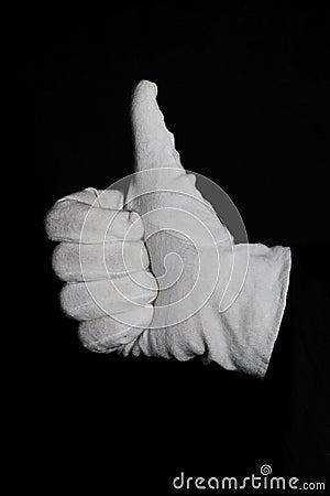 All good (gesture)