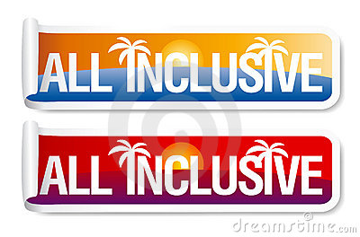 All inclusive labels.